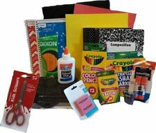Back to School Supplies Kit Bundle Pack Set Grade K-8