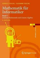 Mathematik für Informatiker: Band 1: Diskrete Mathematik... | Buch | Zustand gut