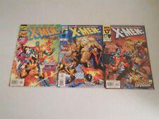 Marvel X-MEN LIBERATORS #1-3 (Mini Series) Colossus Wolverine Nightcrawler