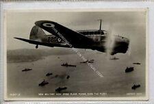 (Ga9416-477) Real Photo of High Speed Plane over the Fleet c1938 VG