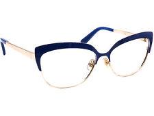 Kate Spade Women's Eyeglasses NEA 0CU7 Blue & Gold Metal Frame 56[]15 135