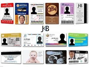 Custom Made ID Cards Business Company Membership Staff Pass Badge Plastic Print