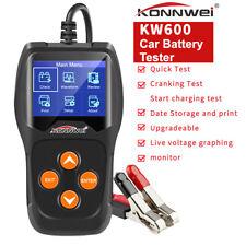 KONNWEI 100-2000 CCA Car Battery Tester Load Test Alternator Digital Analyzer