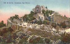 Postcard Mexico El Cerrito del Tepeyac Hgo. La Basílica de Guadalupe MINT c1930s