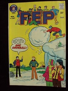 PEP #287 1974 ARCHIE COMICS BRONZE AGE COMIC BOOK