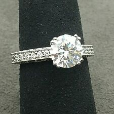 New A.Jaffe Engagement Ring 18k white gold