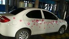 Car Cherry Flowers Pink  for Beetle Bora Door Vinyl Motor sticker ZC1528 60pcs