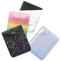 Mobile Phone Wallet Credit ID Card Holder Adhesive Pocket Sticker For iPhone New