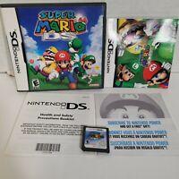 Super Mario 64 DS Nintendo DS Complete in Box CIB Game Cartridge Manual Case
