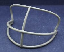Vintage 1970s 1980s Riddell Nopo Football Helmet Facemask > Grey