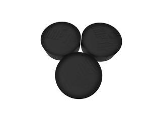 Black Spinster Grip Tip 14mm Glue on type No chalk needed Mancave