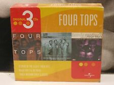 THE FOUR TOPS - BEST 1972-78 / REACH OUT I'LL BE THERE / EARLY CLASSICS BOX 3 CD