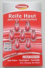 * SCHAEBENS ANTI-AGE Reife Haut KONZENTRAT 7 Kapseln Elastizität Feuchtigkeit *