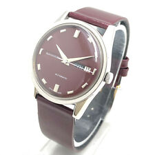 Vintage Sandoz Automatic Day Date 25 Jewels Swiss Made Mens Wrist Watch A9966