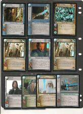 Lord of the Rings TCG FOIL CARDS Selection of 10 Near Mint