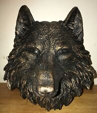 Latex Mould for making Large Wolf Head Plaque