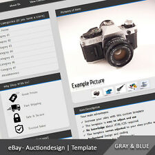 eBay Professional Custom Design Auction Listing Template (2)