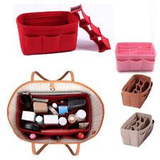 Womens Organizer Handbag Felt Travel Bag Insert Liner Purse Storage Pouch
