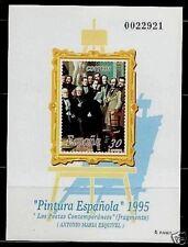 ESPAÑA PRUEBA F.N.M.T. 1995 Nº 36 PINTURA ESPAÑOLA