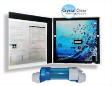ELECTROLYSEUR - piscines jusqu'à 120m3 -3g/l de sel - inversion polarité