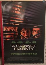 Original Movie Poster A Scanner Darkly Double Sided 27x40