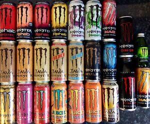 25 Can Bumper Selection Rare American Japanese Monster Energy Drinks Khaos Gift?