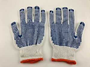 One Glove, Blue Dot Glove (12 pairs) Workwear