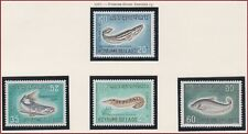 LAOS N°156/159* Poissons, TB, 1967 LAOS SC#148-151 Fish Set MH