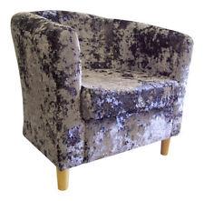 Living Room Crushed Velvet Modern Chairs