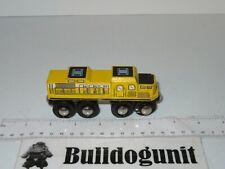 Wood Train Car Maxim Enterprise Toy Wooden Yellow Railroad Magnet
