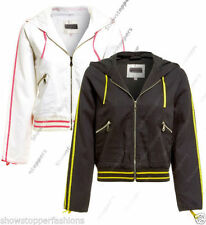 Cotton Hood Casual Coats & Jackets for Women