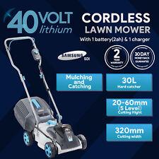 More details for  swift 40v cordless brushless lawn mower kit battery powered electric lawnmower