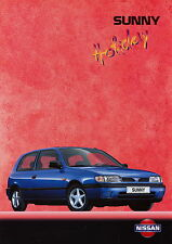 Nissan Sunny Holiday Prospekt 1995 deutsche Ausgabe brochure broszura catalog