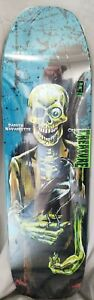 Creature 8.8in x 32.57in Navarrette Relic Skateboard Deck Limited Edition