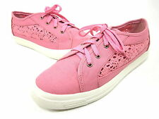 WANTED SHOES, COLUMBUS FASHION SNEAKER, WOMENS, CORAL, US 9M, NEW WITHOUT BOX
