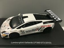 COCHE LAMBORGHINI GALLARDO LP 560 GT3 2012. ALTAYA. ESCALA 1/43