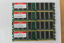 2GB 2x1GB DDR-400 RAM PC-3200U Speicher für DesktopPC low density