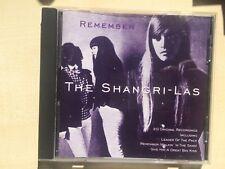 THE SHANGRI-LAS - REMEMBER: 20 ORIGINAL RECORDINGS (CD ALBUM)