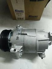 NISSENS 89216 Compressor, air conditioning OPEL VAUXHALL Astra Meriva Zafira
