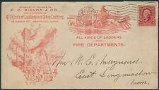 E.C. BISHOP & Co LADDERS & STEP LADDERS MFG. ADVERTISING COVER BR8898