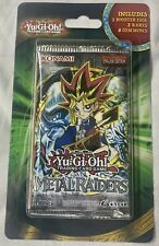 Yugioh! Sealed METAL RAIDERS Blister Booster Pack