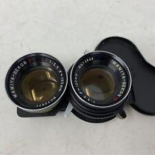 Mamiya-Sekor D 105mm f/3.5 TLR Camera Lens