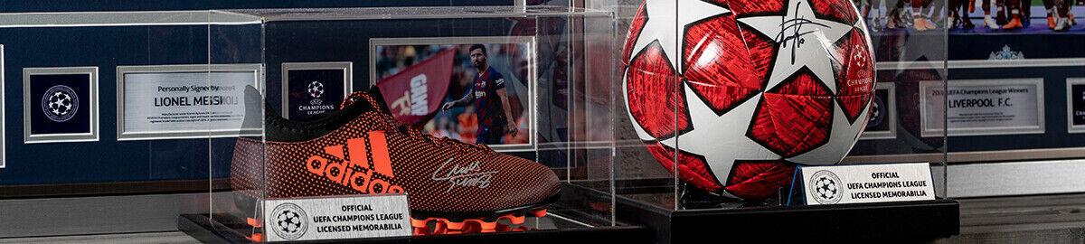 Icons Signed Football Memorabilia
