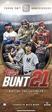 Topps Bunt Lot 9 *Digital* Cards Any 9 of Your Choice Need App