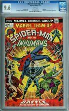 MARVEL TEAM-UP 11 CGC 9.6 WP SPIDER-MAN INHUMANS AVENGERS MARVEL COMICS 1973