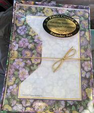 Stationery Set Writing Paper Case brand 15 Envelopes 30 sheets Paisley pink