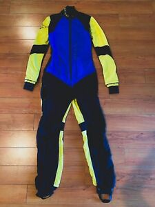 Vertical Women's Skydiving Jumpsuit, Viper Suit , Blue , Yellow , Black