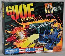 GI Joe Extreme Detonator Combat Cannon & Sgt. Savage MOC 81213 Kenner 1995 VHTF