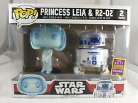 Star Wars Funko Pop - Princess Leia & R2-D2 2 Pack - SDCC Exclusive