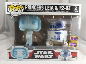 Star Wars Funko Pop - Princess Leia & R2-D2 2 Pack - SDCC Exclusive